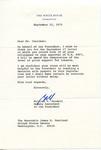 William T. Kendall to Senator James O. Eastland, 22 September 1975