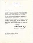 Max L. Friedersdorf to Senator James O. Eastland, 13 December 1975