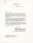 Max L. Friedersdorf to Senator James O. Eastland, 31 December 1975