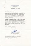 William T. Kendall to Senator James O. Eastland, 31 December 1975