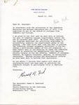 President Gerald R. Ford to Senator James O. Eastland, 22 March 1976 by Gerald R. Ford