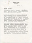 President Gerald R. Ford to Nelson A. Rockefeller, 23 March 1976 by Gerald R. Ford