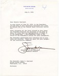 James M. Cannon to Senator James O. Eastland, 8 July 1976 by James M. Cannon