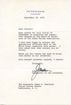 John O. Marsh, Jr. to Senator James O. Eastland, 18 September 1976 by John O. Marsh