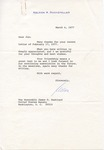 Nelson A. Rockefeller to Senator James O. Eastland, 4 March 1977 by Nelson A. Rockefeller and Happy Rockefeller