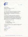 Charles Benton to Senator James O. Eastland, 13 October 1978 by Charles Benton