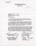 Senator James O. Eastland; Russell B. Long; Kaneaster Hodges, Jr.; Dale Bumpers; J. Bennett Johnston; John Tower; Floyd K. Haskell; John Melcher; Herman E. Talmadge; Edward Zorinsky; Birch Bayh; Robert Dole; George McGovern; & Jesse Helms to James T. McIntyre, 3 May 1978 by James O. Eastland, Russell B. Long, Kaneaster Hodges Jr., and Dale Bumpers