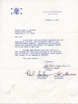 Walter F. Mondale, Paul Sarbanes, and Ted Stevens to Senator James O. Eastland, 10 October 1978 by Walter F. Mondale, Paul Sarbanes, and Ted Stevens