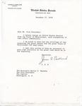 Senator James O. Eastland to Walter F. Mondale, 27 December 1978 by James O. Eastland