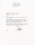 Walter F. Mondale to Senator James O. Eastland, 1 June 1982 by Walter F. Mondale