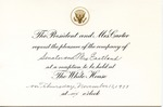 President & Mrs. Jimmy Carter to Senator & Mrs. James O. Eastland, [November 1977].