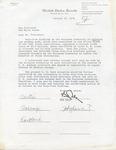 Bob Dole, [Carl T. Curtis, Herman E. Talmadge, James O. Eastland, S.I. Hykawa possibly] to President Jimmy Carter, 31 January 1978 by Robert J. Dole, Herman E. Talmadge, James O. Eastland, and S. I. Hayakawa