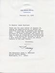 President Jimmy Carter to Senator James O. Eastland, 15 February 1978 by Jimmy Carter