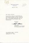 Frank Moore to Senator James O. Eastland, 15 March 1978 by Frank Moore