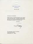 President Jimmy Carter to Senator James O. Eastland, 25 May 1978 by Jimmy Carter