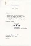 Frank Moore to Senator James O. Eastland, 9 June 1978 by Frank Moore