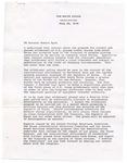 President Jimmy Carter to Senator Robert Byrd, 20 July 1978 by Jimmy Carter