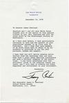 President Jimmy Carter to Senator James O. Eastland, 21 September 1978 by Jimmy Carter