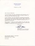 Frank Moore to Senator James O. Eastland, 12 October 1978 by Frank Moore