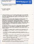Frank Moore to Senator James O. Eastland, 2 November 1978 by Frank Moore