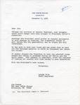 Landon Kite to Jim Puchan, 6 December 1978 by Landon Kite