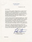 Esther Peterson to Senator James O. Eastland, 22 December 1978 by Esther Peterson