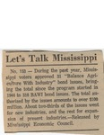 Let's Talk Mississippi by Author Unknown