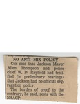 No Anti-Mix Policy by Author Unknown