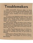 Troublemakers by Author Unknown
