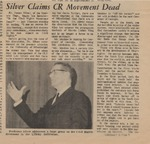 Silver Claims CR Movement Dead by (Author Unknown)