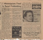 2 Mississippians Freed In Racial Firebombing by Author Unknown
