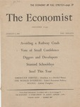 The Economist, 1 January 1955 by (Author Unknown)