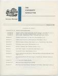 The University Newsletter, 23 November 1962 by University of Mississippi