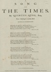 A Song for the Times by Quintus Quoz
