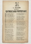 A Dialogue Between a Catholic and a Protestant by Author Unknown