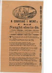 A Courting I Went; I had Naught Else to Do by Author Unknown