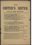The Coster's Sister