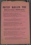 Patsy Nailed the Horse-Shoe