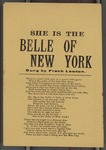 She is the Belle of New York