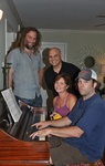 At the piano by Kudzu Kings (Musical Group)