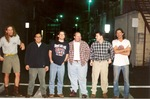 Lineup in the alley by Kudzu Kings (Musical Group)