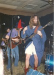 Bathrobe, cowboy boots and jester's hat by Kudzu Kings (Musical Group)