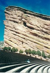 Red Rocks, pre-show: mostly empty by Kudzu Kings (Musical group)