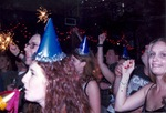 New Years Eve crowd, with sparklers by Kudzu Kings (Musical group)