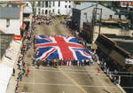 Flag of Great Britain on parade, image 001 by Author Unknown