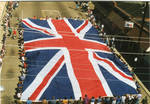 Flag of Great Britain on parade, image 002 by Author Unknown
