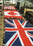 Flags of Great Britain, Canada and the United States on parade, image 006 by Author Unknown