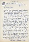 Jon Hendricks to Mr. Walter Lyons by Author Unknown
