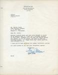 Steve Allen to Walter Lyons by Steve Allen and Donna Zink