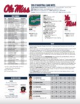 Ole Miss Game Notes Florida